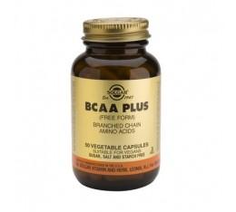 Solgar - BCAA Plus / 50 caps. Хранителни добавки, Аминокиселини, Разклонена верига (BCAA)