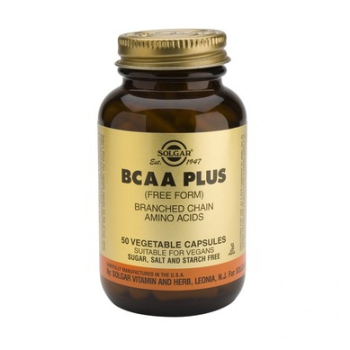 Solgar - BCAA Plus / 50 caps.​