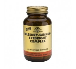 Solgar - Bilberry Ginkgo Eyebright Complex / 60 caps.​