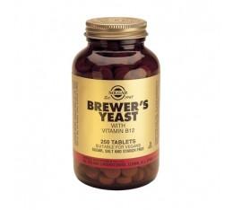 Solgar - Brewers Yeast / 250 tabs. На билкова основа