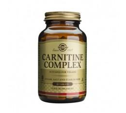 Solgar - Carnitine Complex / 60 tabs. Хранителни добавки, Отслабване, Л-Карнитин