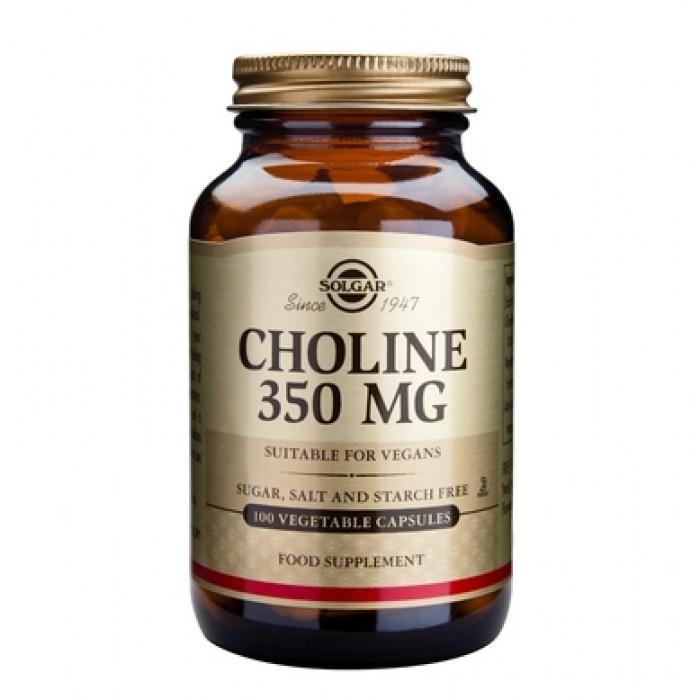 Solgar - Choline 350mg. / 100 caps.