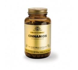 Solgar - Cinnamon / 100 caps. Хранителни добавки, Антиоксиданти, Витамини, минерали и др.