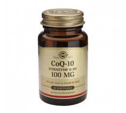 Solgar - CoQ-10 100mg. / 30 softgels.​