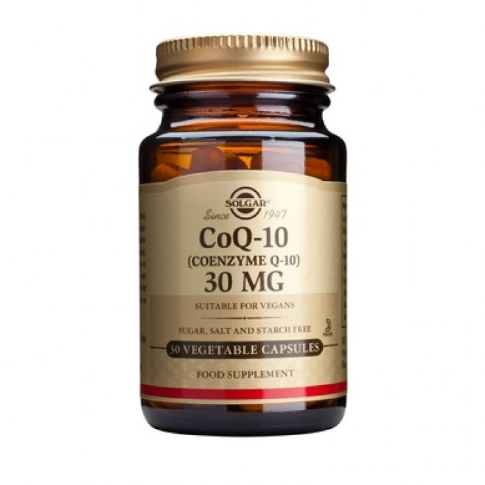 Solgar - CoQ-10 30mg. / 30 softgels.​