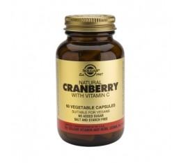 Solgar - Cranberry Extract with Vitamin C / 50 caps. Хранителни добавки, На билкова основа