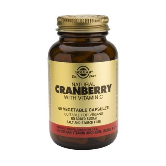 Solgar - Cranberry Extract with Vitamin C / 50 caps.