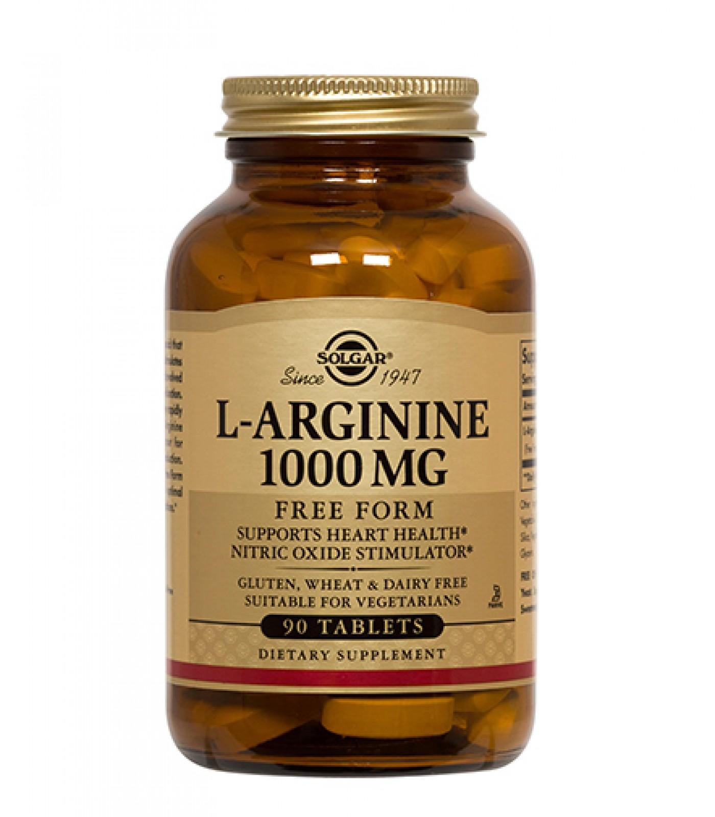 Solgar - L-Arginine 1000mg / 90tab.