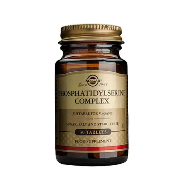Solgar - Phosphatidyl-Serine 100mg. / 30 tabs.