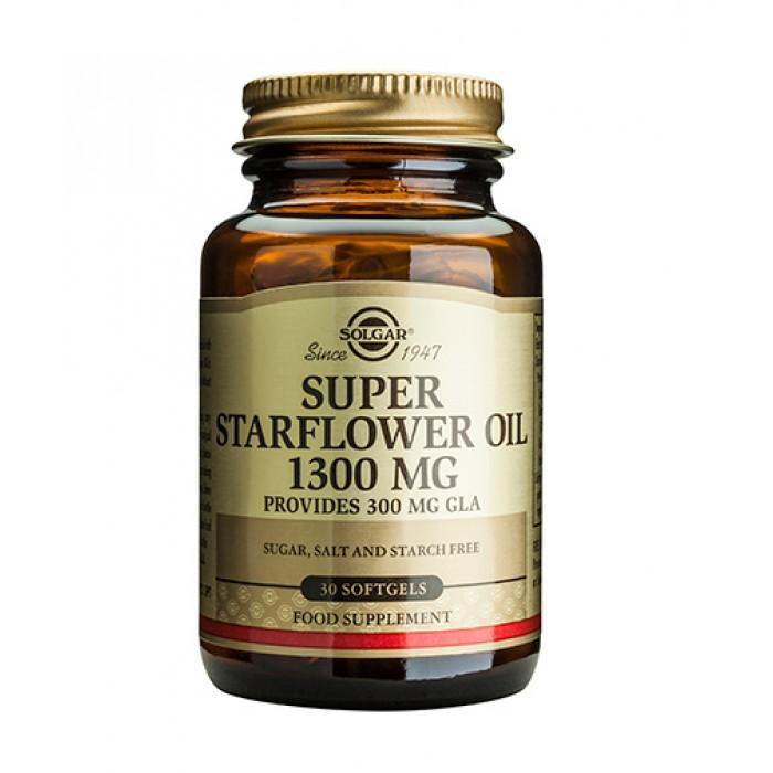 Solgar - Super Starflower Oil 1300mg / 30 softgels