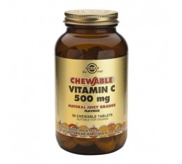 Solgar - Chewable Vitamin C 500mg. / 90 tabs.​