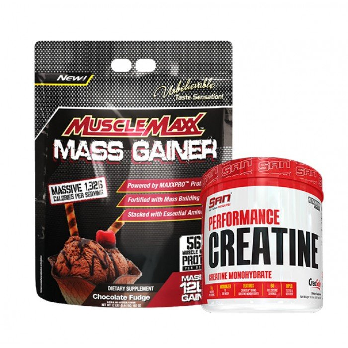 STACK Маса - Muscle Maxx Gainer + Creatine​