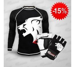 Stack Dominator Рашгард Lion + Dominator - ММА ръкавици / Lion Бойни спортове и MMA, Боксови ръкавици, СТАКОВЕ