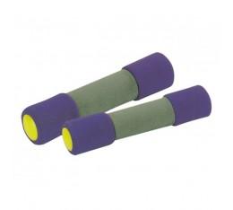 SZ Accessories - Гира с покритие от пяна / 2 кг Бойни спортове и MMA, Фитнес аксесоари, Тежести, лостове и др.