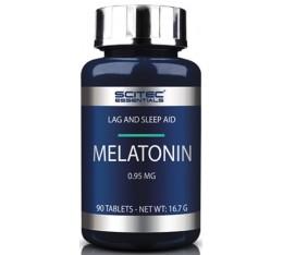 Scitec - Melatonin 0.95 90 tabl Хранителни добавки, В подкрепа на съня