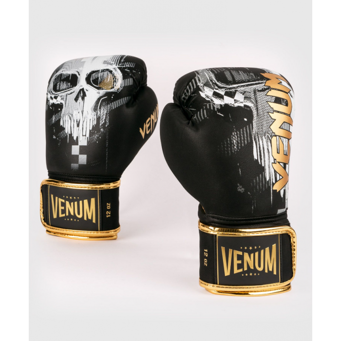 Боксови ръкавици - Venum Skull Boxing Gloves - Black​
