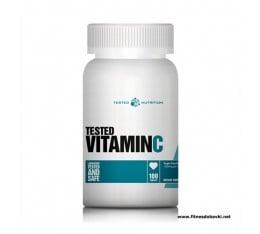 Tested Nutrition - Vitamin C / 100caps x 1000mg. Хранителни добавки, Витамини, минерали и др., Витамин C