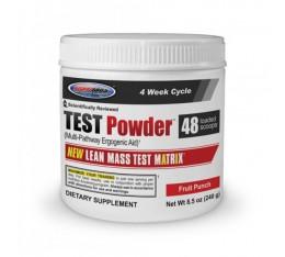 USP Labs - TEST Powder / 240 gr Хранителни добавки, Стимулатори за мъже, Хранителни добавки на промоция