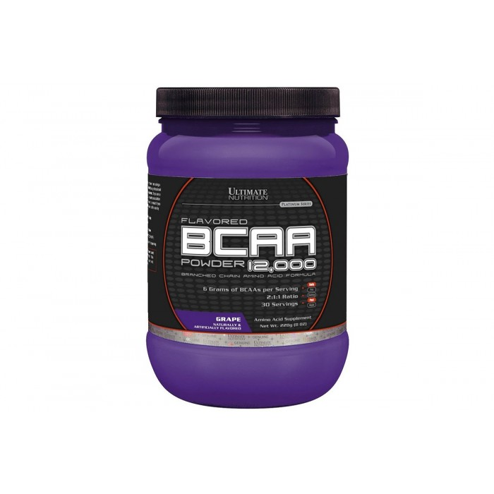 Ultimate Nutrition BCAA 12,000 Powder 228 гр.