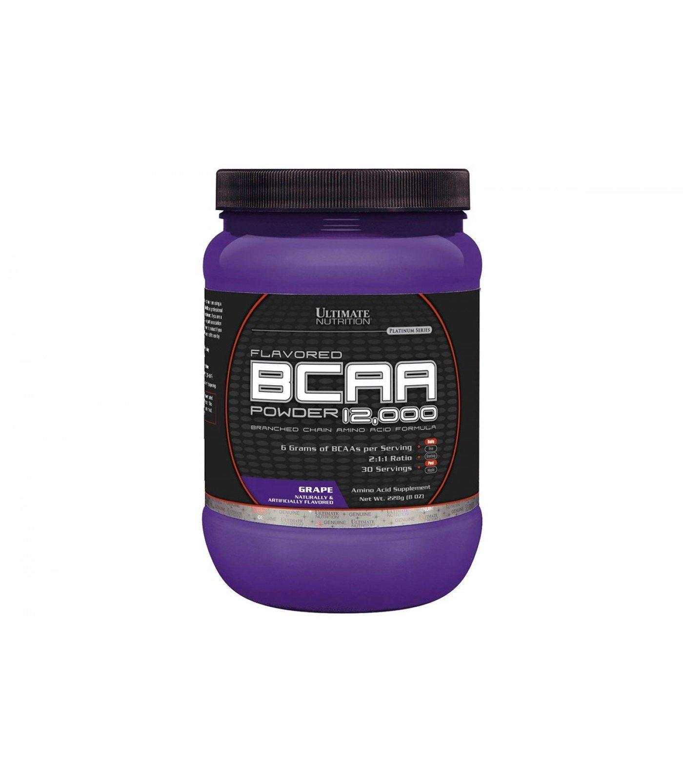 Ultimate Nutrition BCAA 12,000 Powder 228 гр.