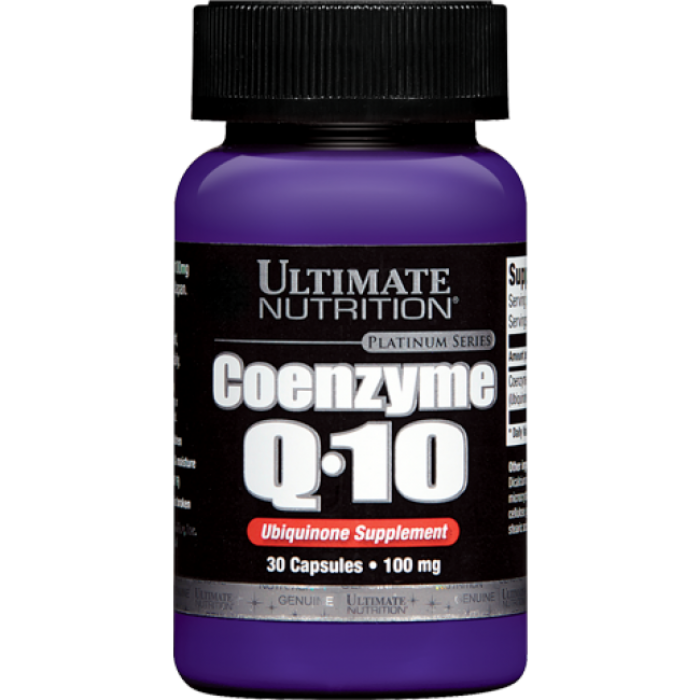 Ultimate Nutrition - Coenzyme Q10 100 mg / 30 caps