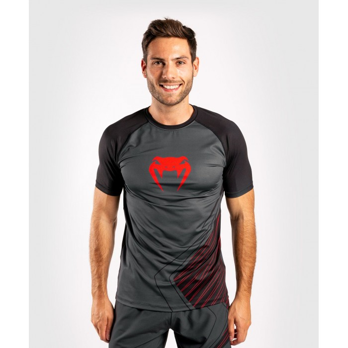 Тениска - Venum Contender 5.0 Dry-Tech T-shirt - Black/Red​
