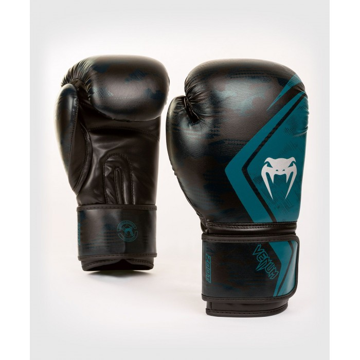 Боксови Ръкавици - Venum Defender Contender 2.0 Boxing Gloves - Black/Green​