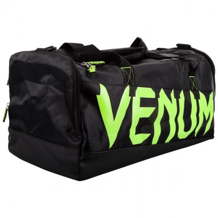 Спортен Сак - VENUM SPARRING SPORT BAG - BLACK/GREEN​