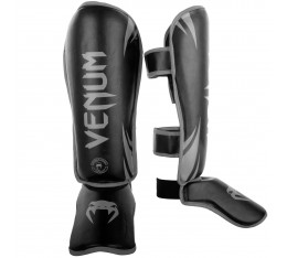 Протектори за крака - Venum Challenger Standup Shinguards - Black/Grey Протектори за крака