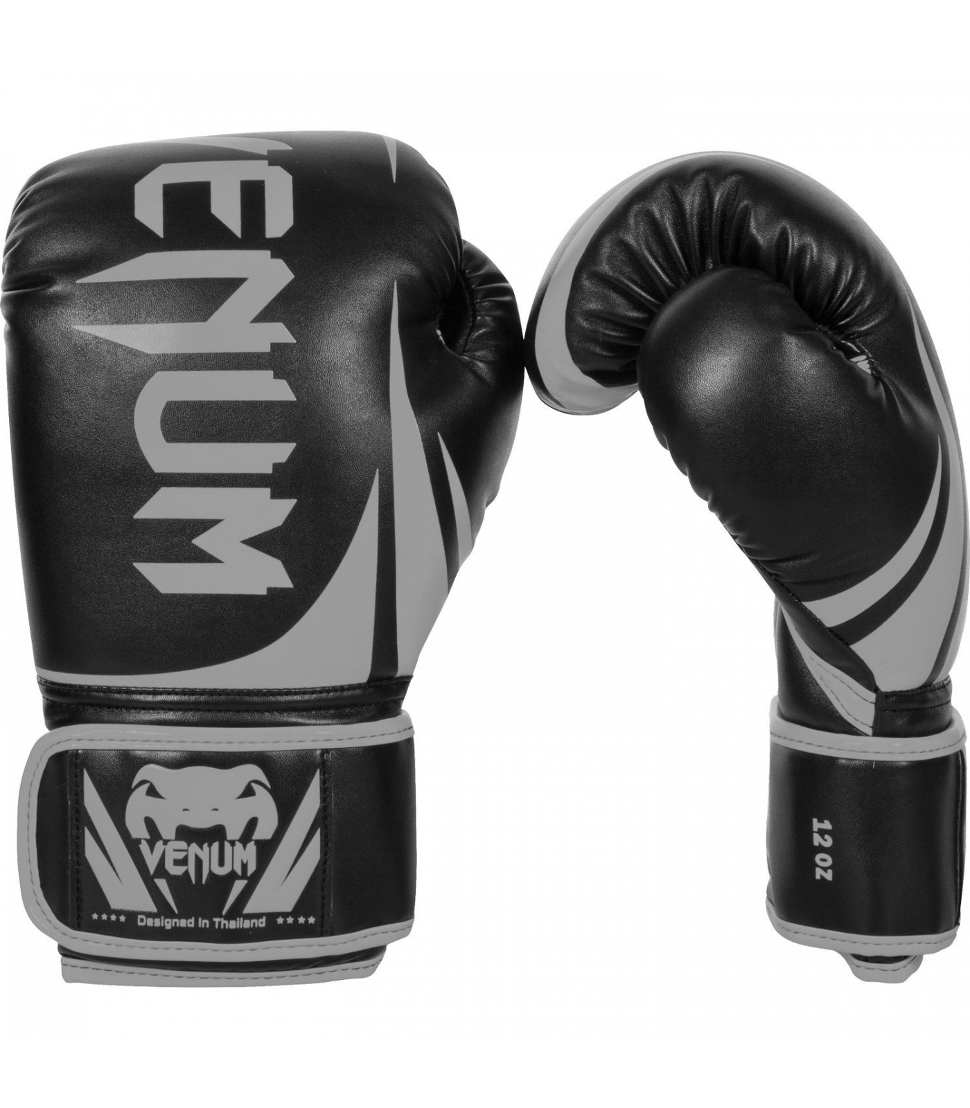 Боксови ръкавици - Venum Challenger 2.0 Boxing Gloves - Black/Grey​