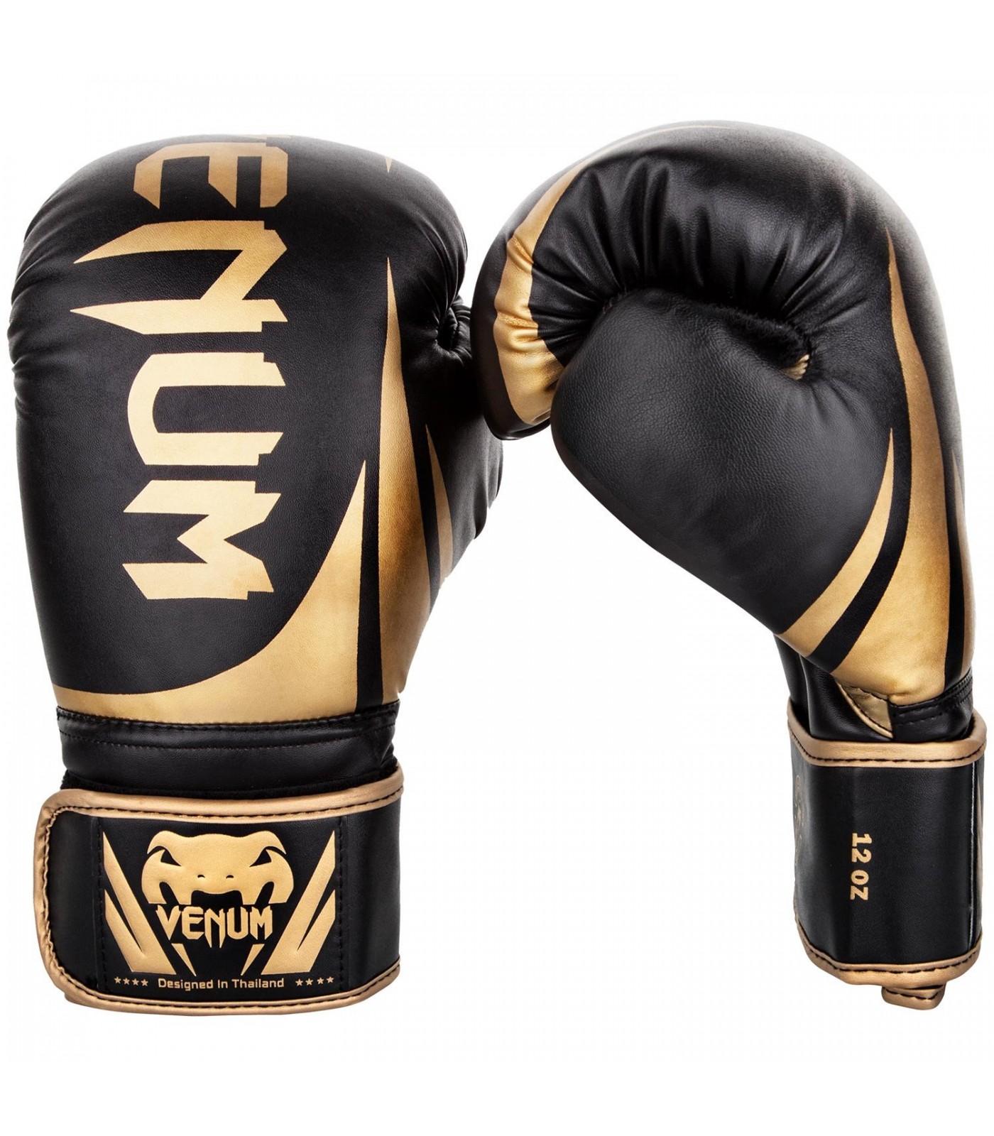 Боксови ръкавици - Venum Challenger 2.0 Boxing Gloves - Black/Gold