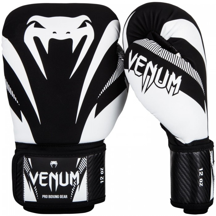 Боксови Ръкавици - Venum Impact Boxing Gloves - Black/White​