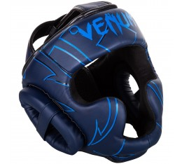ПРОТЕКТОР ЗА ГЛАВА / КАСКА - Venum Nightcrawler Headgear-Navy blue​ Протектори за глава