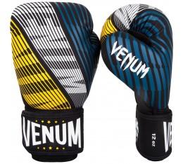Боксови Ръкавици - Venum Plasma Boxing Gloves - Black/Yellow Боксови ръкавици