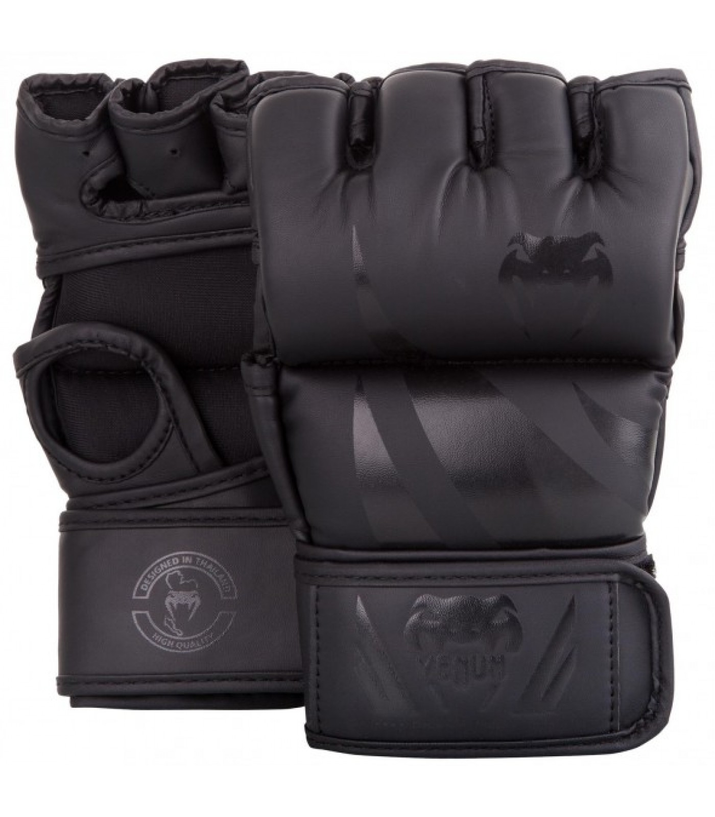 ММА ръкавици без палец - Venum Challenger MMA Gloves - Without Thumb - Black/Black​