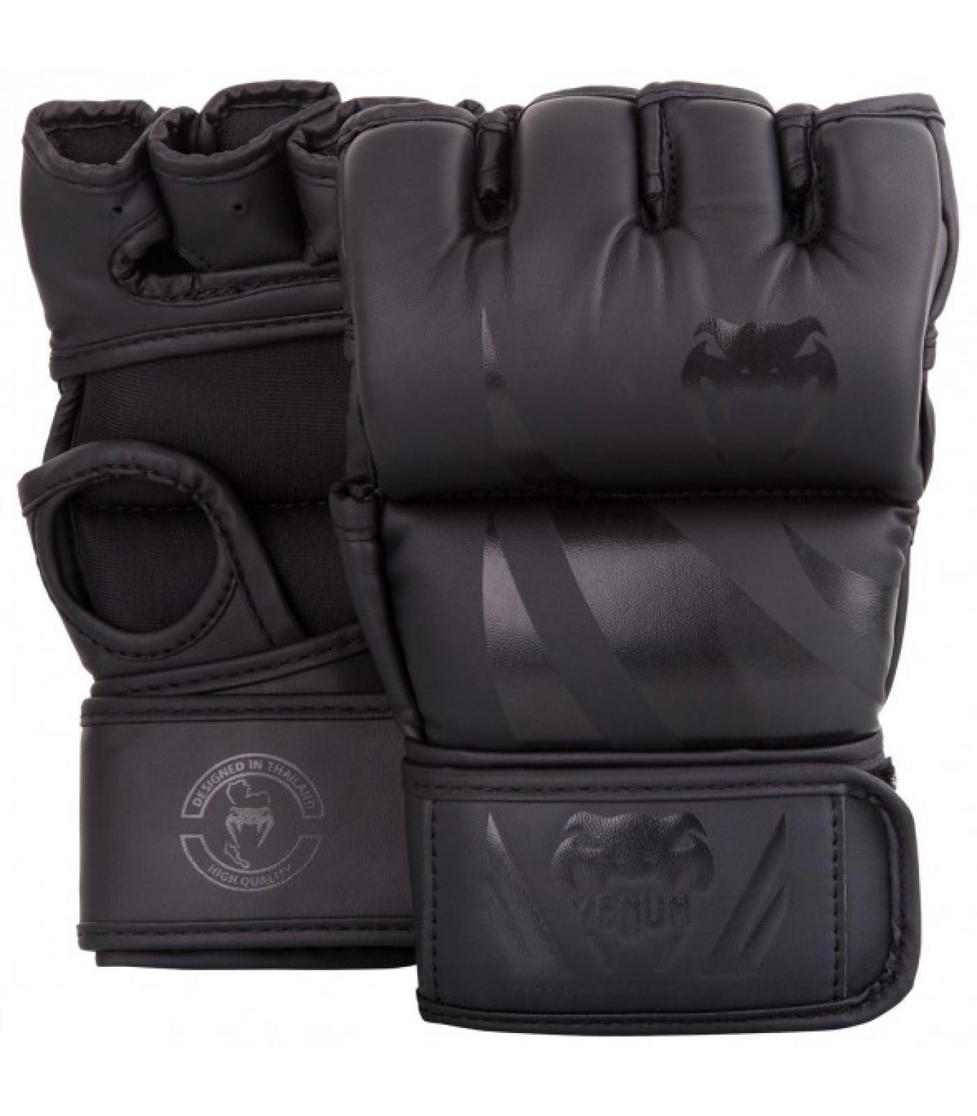 ММА ръкавици без палец - Venum Challenger MMA Gloves - Without Thumb - Black/Black