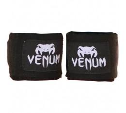 Venum - Бинт черен / 4 метра Бойни спортове и MMA, Бинтове