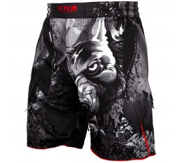 Шорти - Venum Werewolf Fightshorts - Black/Grey​ Къси гащета