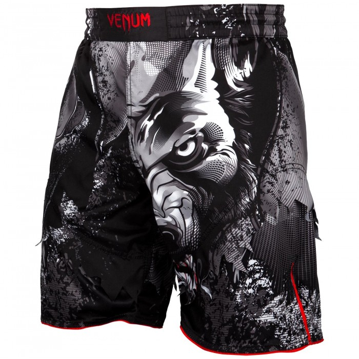 Шорти - Venum Werewolf Fightshorts - Black/Grey​
