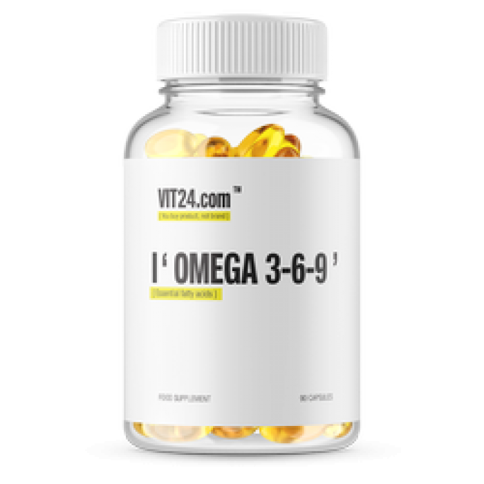 VIT24 - Omega 3-6-9 / 90 softgel