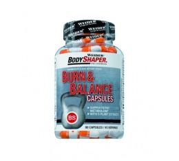 Weider - Burn & Balance / 90 Caps Хранителни добавки, Отслабване, Фет-Бърнари