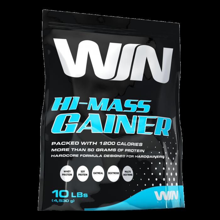 WIN Nutrition - 100% Hi-Mass Gainer / 5lbs.