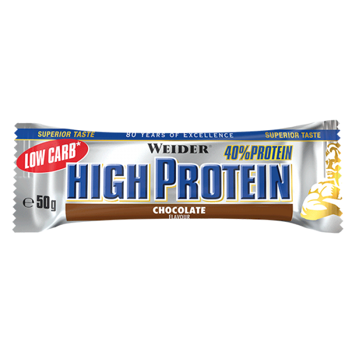 Weider - Low Carb High Protein Bar / 50g.