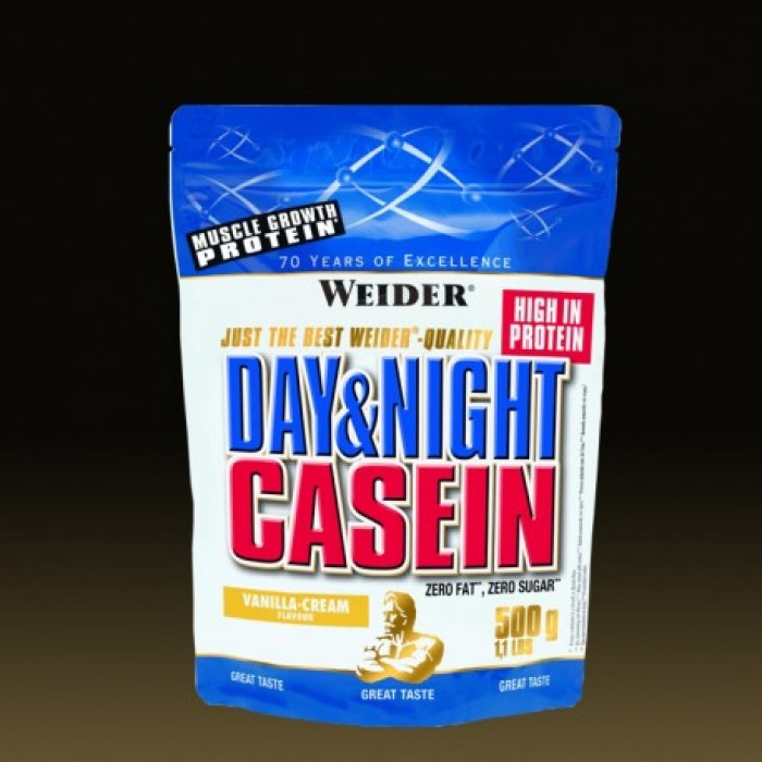 Weider - Day & Night Casein / 500 gr