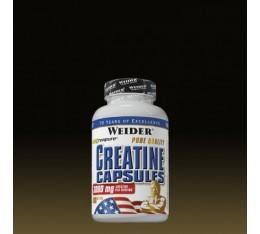 Weider - Creatine Capsules / 100 Caps. Хранителни добавки, Креатинови продукти