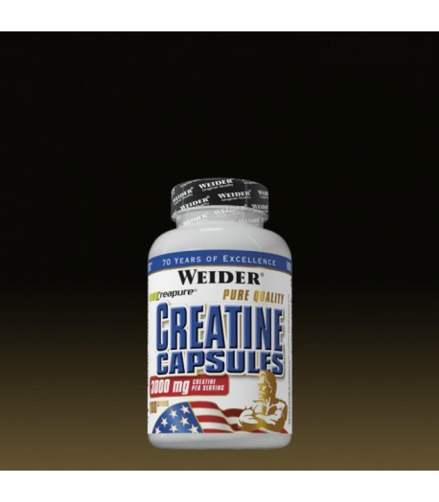 Weider - Creatine Capsules / 100 Caps.