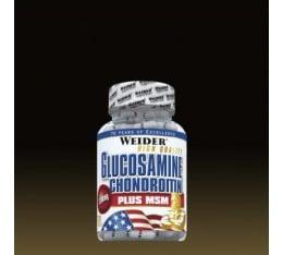 Weider - Glucosamine & Chondroitin + MSM / 120 caps Хранителни добавки, За стави и сухожилия