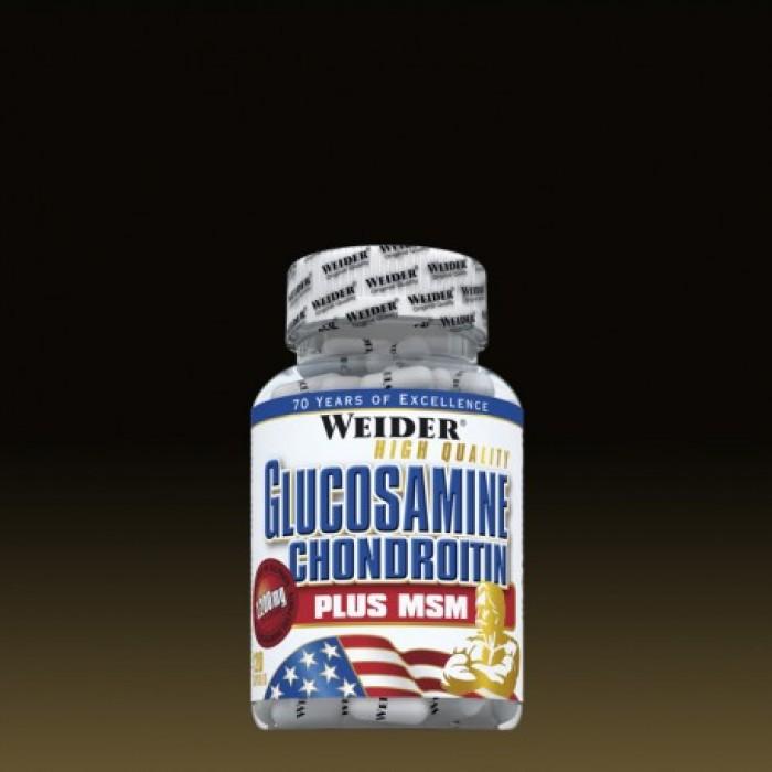 Weider - Glucosamine & Chondroitin + MSM / 120 caps