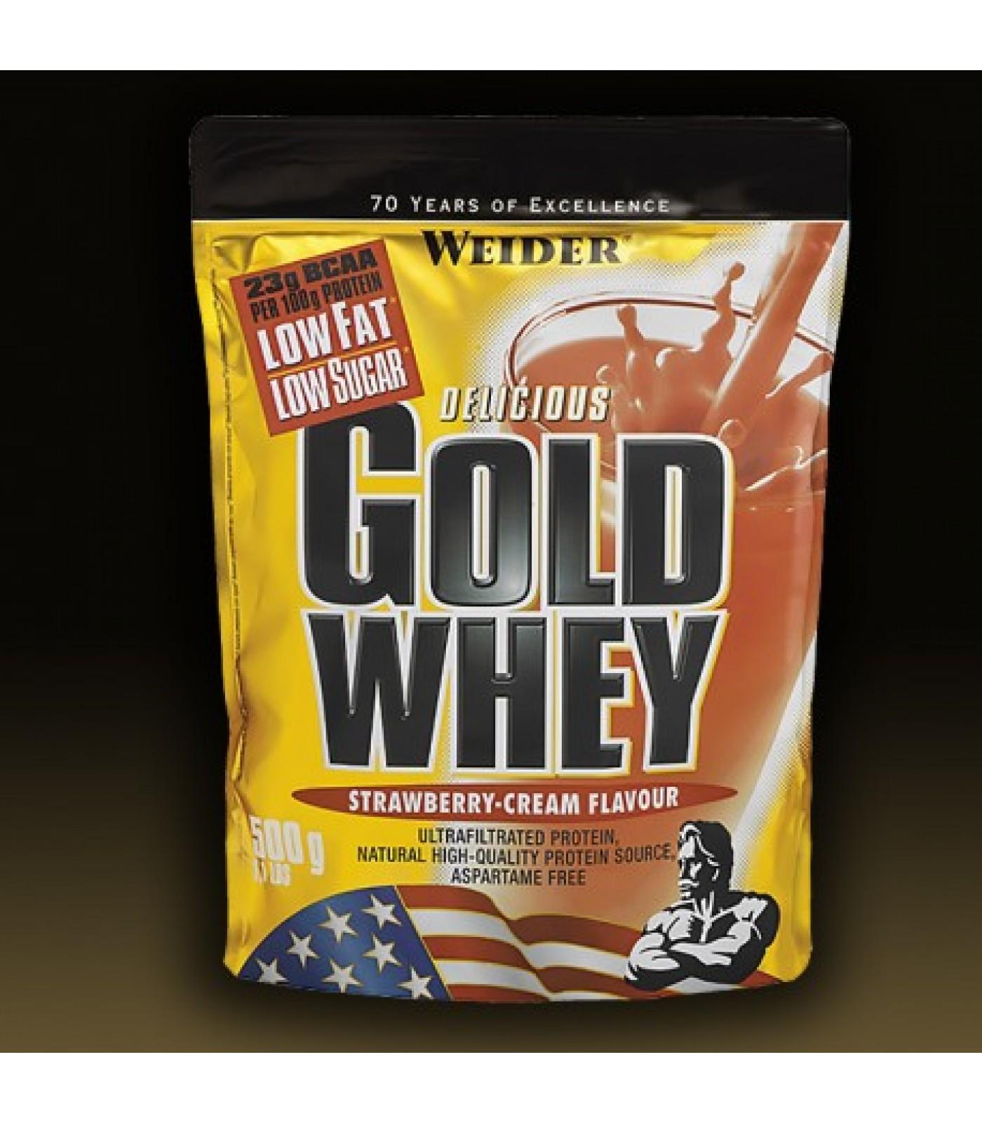 Weider - Gold Whey Protein / 500 gr
