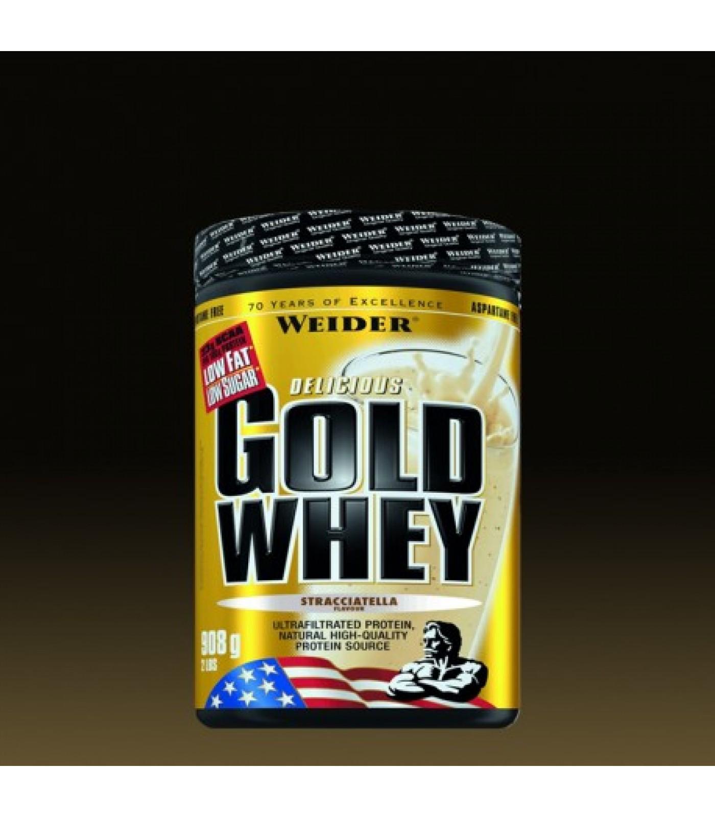 Weider - Gold Whey / 908 gr